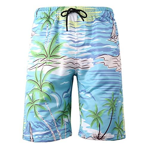 N\P Pantalones de playa de los hombres impresos pantalones deportivos casuales