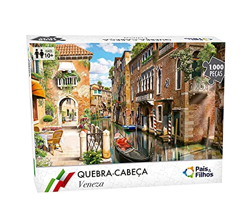 Quebra - Cabeça Veneza - 1000 Pçs