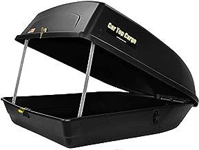 Car Top Cargo Rooftop Cargo (18 Cubic Feet Storage Box 57 39 X 19-Inch No Tools Needed 110 Lb Capacity)