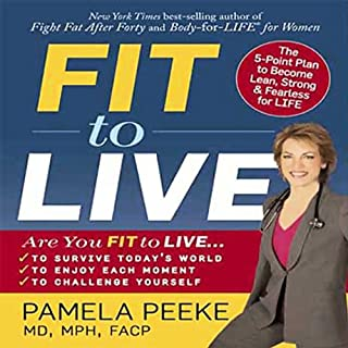 Fit to Live audiobook cover art