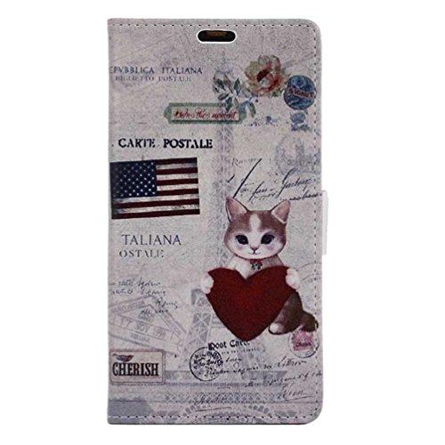 XWZYQ PU Leder Etui Hülle im Bookstyle Handy Tasche für Asus Zenfone Max Pro M2 ZB631KL Schutzhülle Schale Flip Cover Wallet Hülle (KWS-09#)