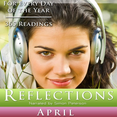 Reflections: April audiobook cover art