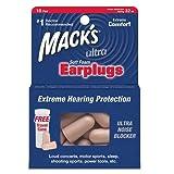 Tapones para los oídos Mack'S ultra suaves, de espuma, protección extrema, Unisex, Ultra, beige, n/a