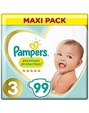 Pampers Premium Protection Luiers Maat 3 (6kg-10kg), 99 luiers
