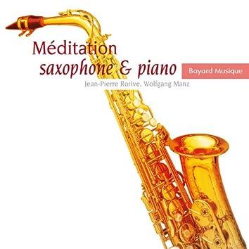 Méditation saxophone & piano