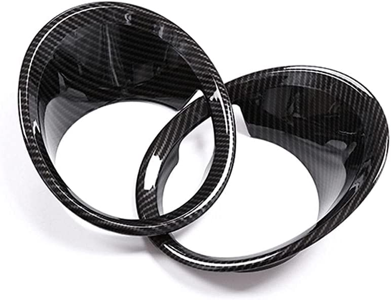 We OFFer at cheap prices KDABJD Car Fog lamp Cover Award-winning store Scratch-Resistant Fade not ABS Chrome