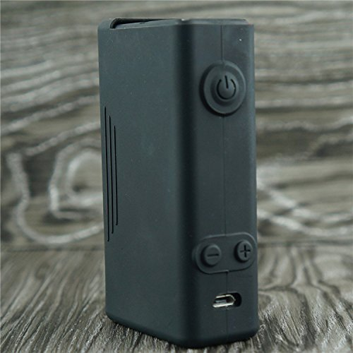Silicone Case for VaporShark DNA200 & DNA250 Vapor Shark DNA 200 & DNA 250 Sleeve Cover Skin Wrap (Black)