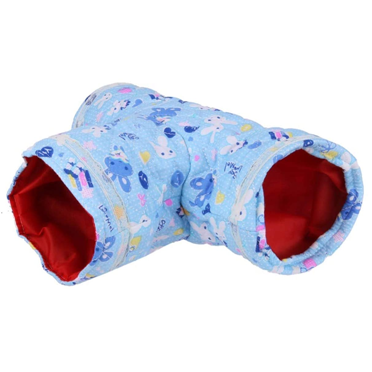 Ants-Store - Small Pet Cartoon Tubes Hamster Toy Tunnel Bed Cute Nest Spring and Autumn Small Animals Toys E5M1