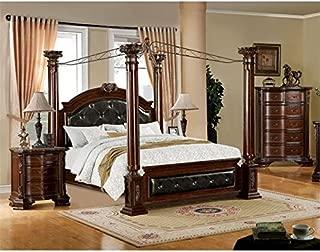 Furniture of America Wilshire 3 Piece Queen Bedroom Set