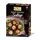 Sea Best Bacon Wrapped Scallops, 5 Ounce (Pack of 12)