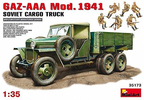 MiniArt GAZ-AAA Cargo Truck Mod. 1940 Échelle 1/35 en Plastique