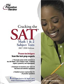 Cracking the SAT Math 1 and 2 Subject Tests, 2007-2008 Edition (College Test Preparation)