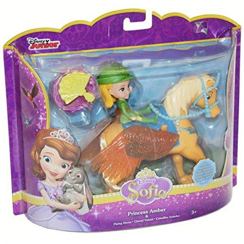 Mattel CKB24 Disney Sofia die Erste Fliegendes Pferd mit Puppe Figur Spielzeug, Modell / Charakter:Princess Amber