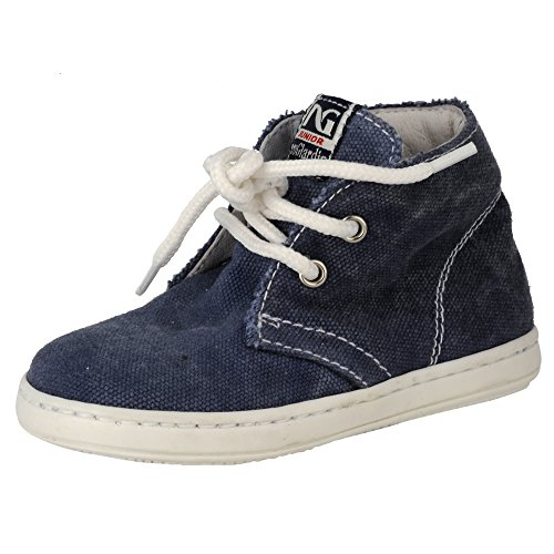 Nero Giardini Junior , {Chaussures premiers pas pour bébé (garçon)} Bleu denim 21 EU