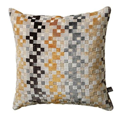 Scatterbox Cushion, Ochre, W43cm x L43cm (17')