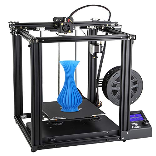 Creality Ender 5 3D Printer with Brand Power Supply, Resume Printing Function and Removable Build Surface Plate