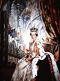 Fotodruck Queen Elizabeth II, 33 x 48 cm