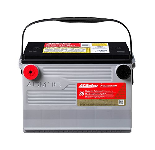 Price comparison product image ACDelco 78AGM Professional AGM Automotive BCI Group 78 Battery