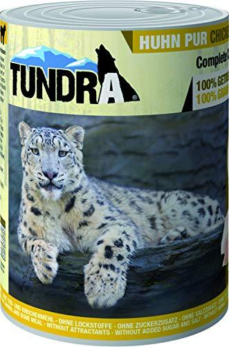 Tundra Katzenfutter Huhn Pur, Nassfutter - getreidefrei (6 x 400 g)