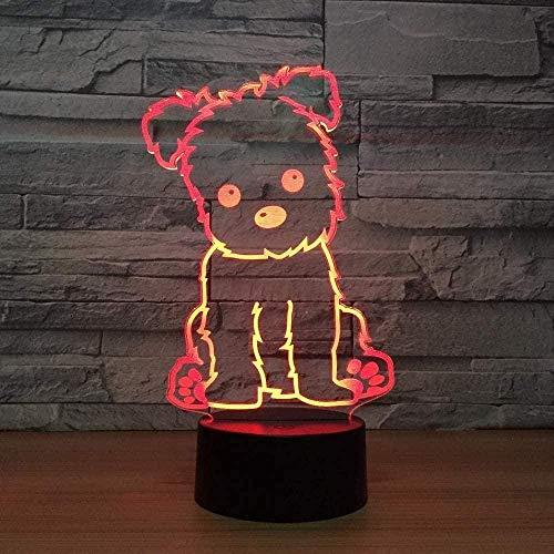 Luces 3D ilusión luces de noche infantiles para niñas niños lámpara, cargador USB, juguetes bonitos regalos ideas cumpleaños vacaciones Navidad para bebé