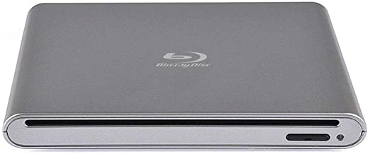 External Blu ray DVD Drive USB 2.0 Inhalation Multi-Function Portable 3D BD/CD/DVD Player with Emergency pop-up Button for PC Computer Notebook