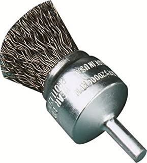 1-Pack United Abrasives-SAIT 06704 1-Inch by .020 Knot Type End Stainless Steel Brush