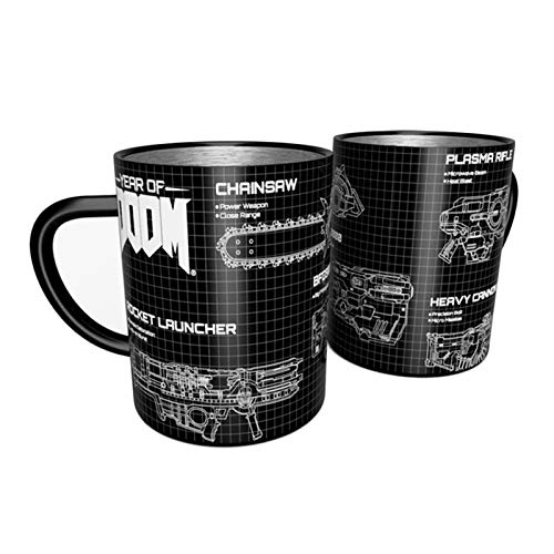 Official DOOM Weapons Steel Mug