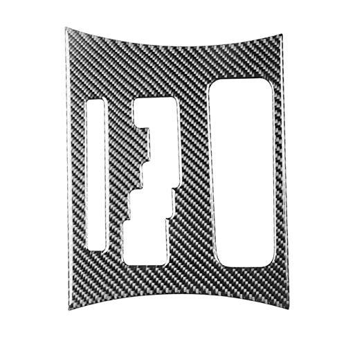 SHENG 1 Unids De Fibra De Carbono Cubierta De Panel De Cambio De Engranaje Automático En Forma De Ajuste para El Cargador Dodge 2011-2014