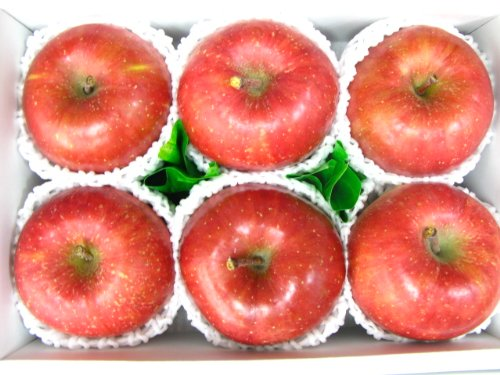 サンふじりんご6個入り