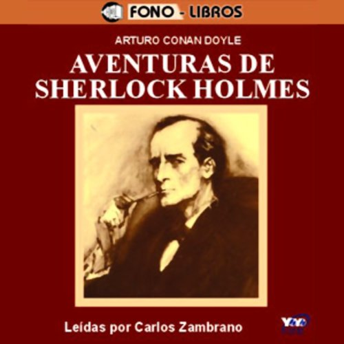 Aventuras de Sherlock Holmes [The Adventures of Sherlock Holmes] audiobook cover art