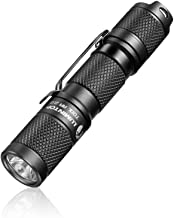 LED small Flashlight, Pocket-Sized Mini EDC Flashlight - LUMINTOP Tool AA 2.0, 2019 New Recommend Super Bright 650 Lumens, 5 Modes with Mode Memory, IP68 Waterproof, Powered by AA or 14500, Perfect for EDC ,Dog Walking ,Camping ,Hiking, Emergency etc.