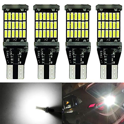 4 StückXW16W Weiß 921 912 W2,1x9,5D Glühlampe 12V-24V 5W Canbus Fehlerfrei Licht Original Ersatz Halogen Birne für Rückfahrscheinwerfer