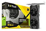 ZOTAC GeForce GTX 1050 Ti LP Grafikkarte (NVIDIA GTX 1050 Ti, 4GB DDR5, 128bit, Base-Takt 1290 MHz, Boost-Takt 1392 MHz, 7 GHz, Low Profile)