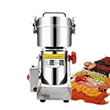 ZXMOTO 700g Electric Grain Grinder 110V Cereal Mill Herb Grinder High-speed Stainless Steel Pulverizer Grinder Food Mill Herb Grinder Grinding Machine,Swing Type