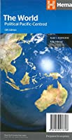 World political Pacific centred handy (2017)