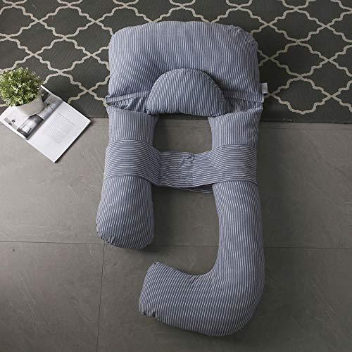 Almohadas for mujeres embarazadas, almohadas de cintura, almohadas laterales, almohadas laterales, almohadillas for dormir, almohadas en forma de U, artefactos de soporte abdominal, almohadas