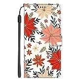 Hongjian Coque pour Samsung Galaxy S6 Edge PU Leather Flip + TPU Soft Silicone Case Cover