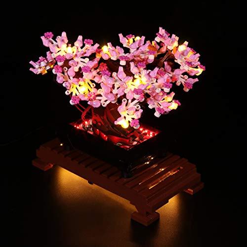 Morton3654Mam Juego de luces LED para árbol Lego Bonsai 10281, juego de iluminación...