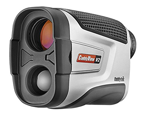 Caddytek Golf Laser Rangefinder with Flagseeking Technology, CaddyView V2