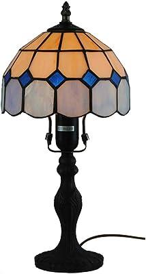 Lámpara de mesa estilo Tiffany de 8 pulgadas, lámparas de ...