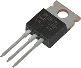International Rectifier IRLB8721PBF MOSFET Pin, HEXFET Power N-Channel (Pack of 10)