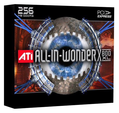 ATI All-In-Wonder X800 XL 256 MB PCIe