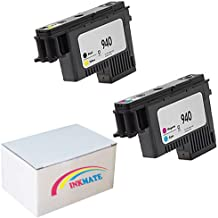 INKMATE Compatible Printhead Replacement for 940 for HP C4900A C4901A Officejet Pro 8000 8500 8500A 8500A Plus 8500A Premium 1BK/Y 1M/C 2Pack