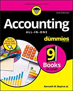 Accounting All–in–One For Dummies with Online Practice