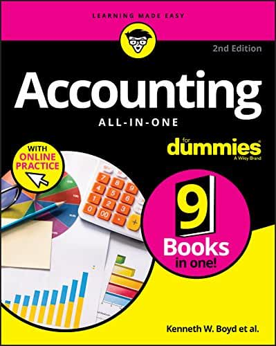 Accounting All-in-One For Dummies with Online Practice (English Edition)