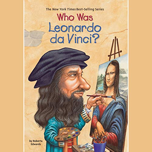 Page de couverture de Who Was Leonardo da Vinci?