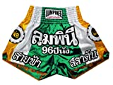 Lumpinee Muay Thai Kick Boxing Pantalones Boxeo Tailandes LUM-022 Talla L