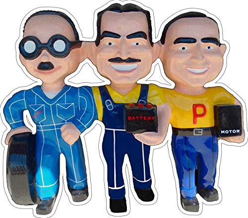 American Collectibles The Pep Boys, Manny Moe and Jack, Plasma Cut Metal Sign