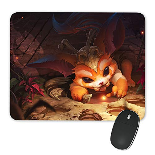 Gnar-001 Liga der Legenden Lol Mousepad Custom Print