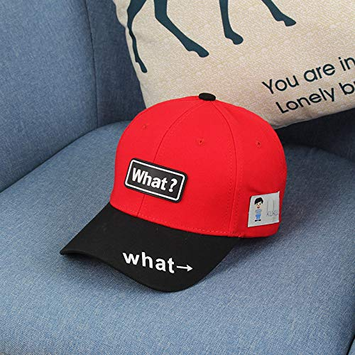 wtnhz Fashion items Children's baseball caps Spring and Autumn Europe and the United States simple color matching English embroidery children's sun hats fashion children's baseball caps